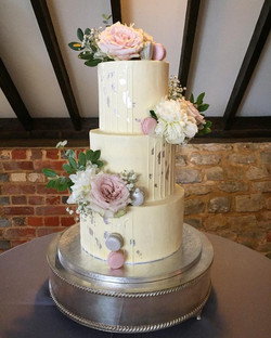Tiered Drip Wedding Cake Sussex