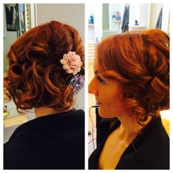 Wedding hair up, Exeter