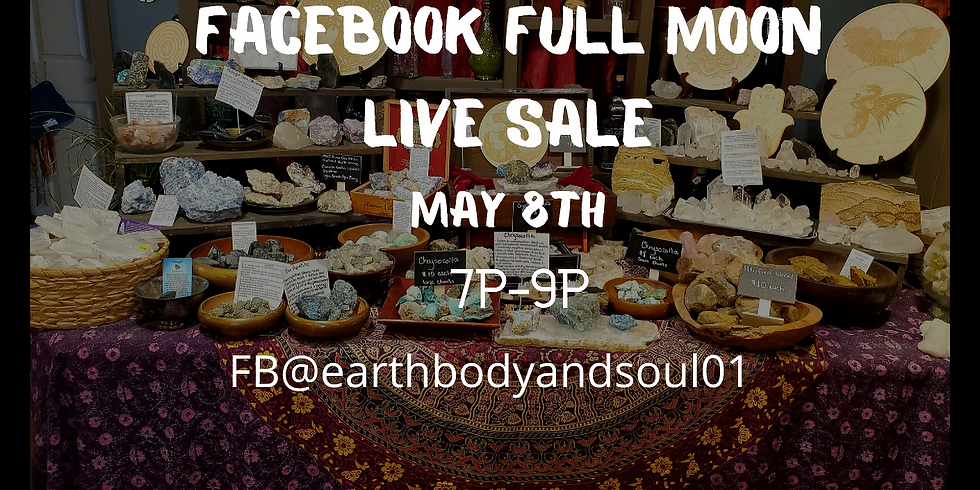 Facebook Full Moon LIVE sale!