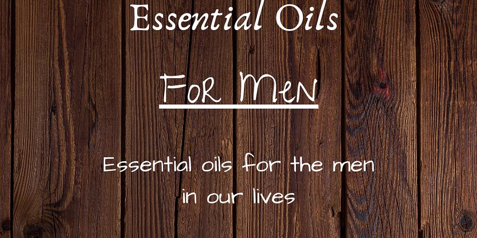 Men's Cologne - Essential Oil Make & Take Event