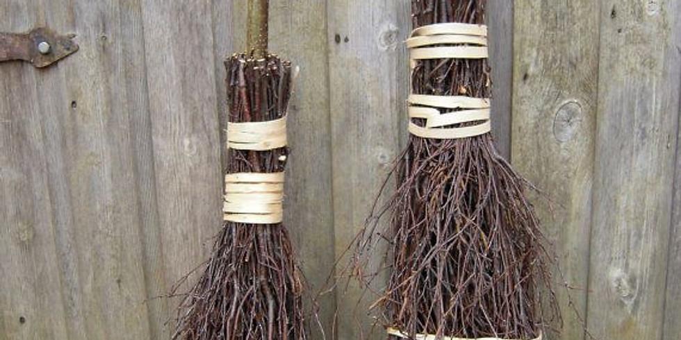 DIY Broom or Besom Making Workshop