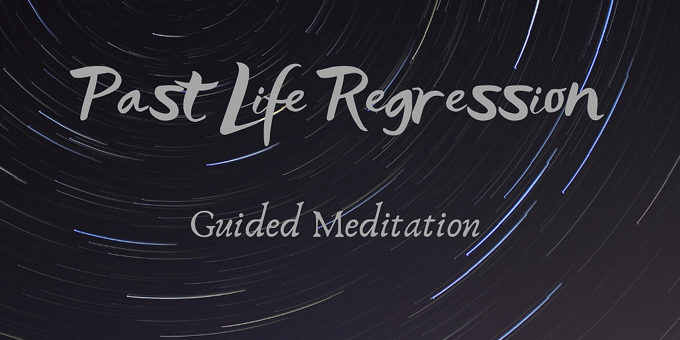 Past Life Regression Guided Meditation & Journey