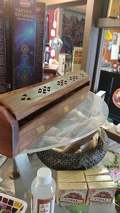 Incense Holder (Long Wooden Box)