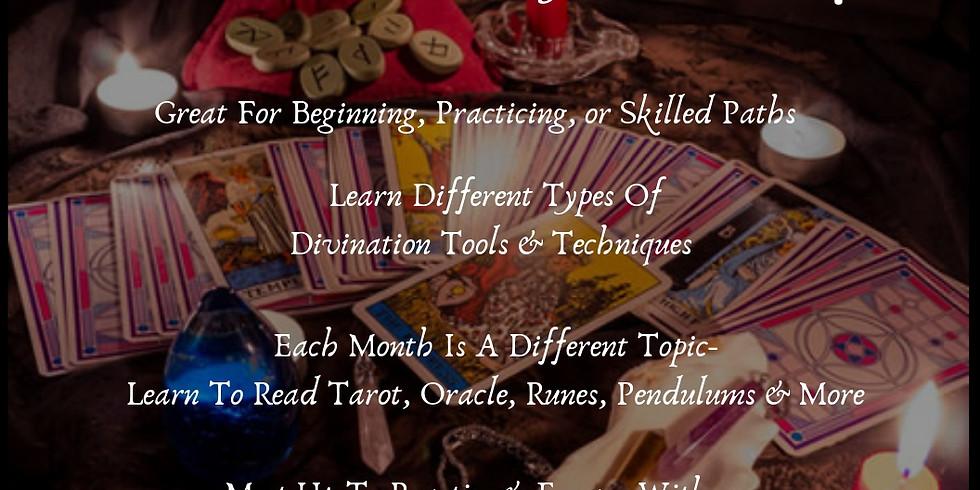 Divination Membership Meetup  - Online Via Zoom