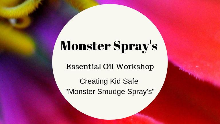 Monster Spray Essential Oil Workshop