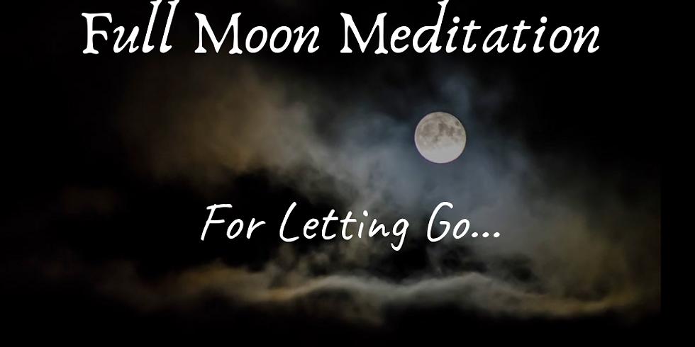 Full Moon Meditation For Letting Go...