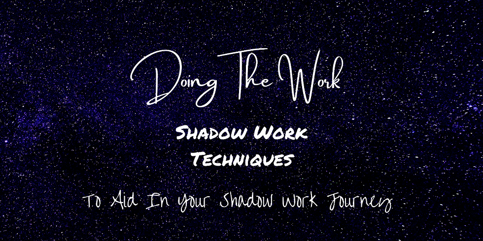 Shadow Work Techniques