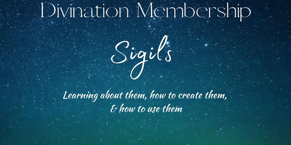 Divination Membership Online Meetup- Creating Sigils