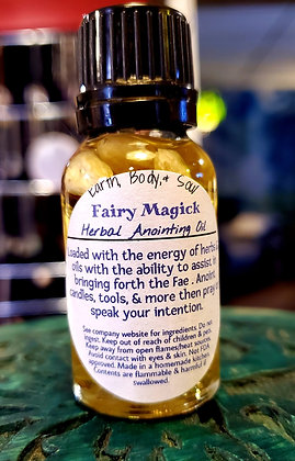 Fairy Magick Anointing Oil