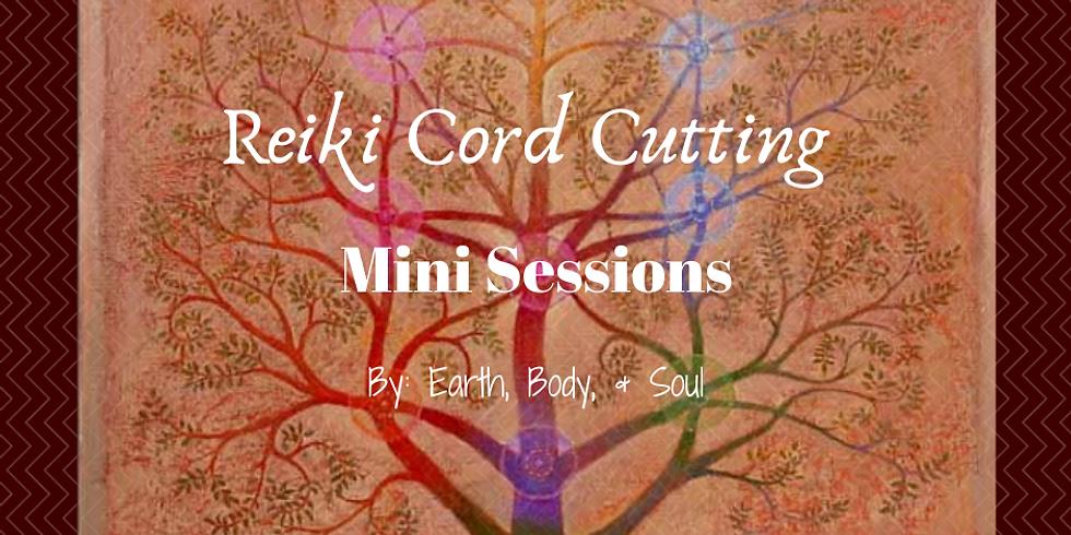 Reiki Energy Cord Cutting Mini Session
