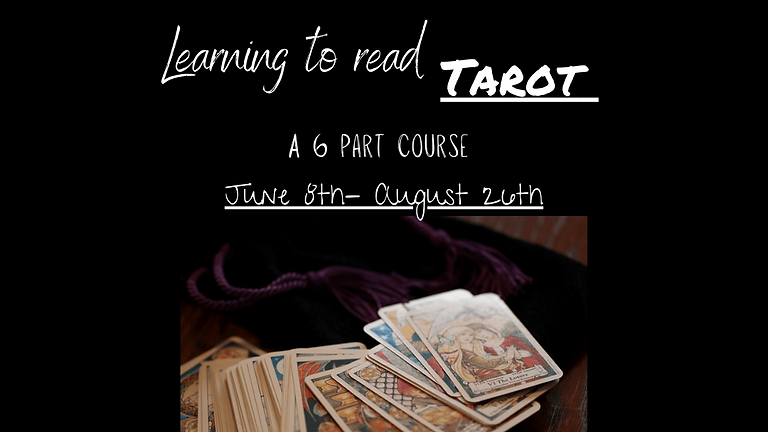 Learning To Read Tarot - Part Two