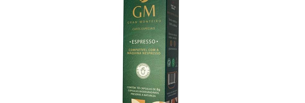 Café especial em cápsulas (Compatível com Nespresso) - 10un