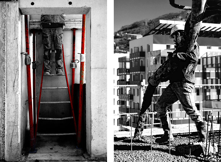 Photographie architecture reportage chantier SMBA quai graille grenoble Archicom4 Thomas Maniaque