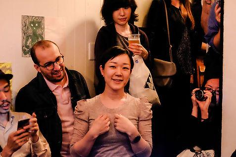 portrait, photography, tokyo, event, art, doke doke, bar, exhibition, ami yamasaki, japan