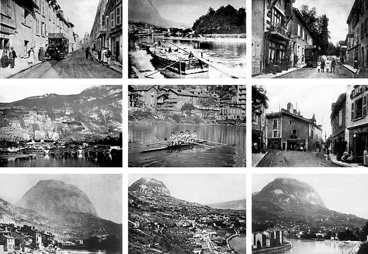Photographie carte postale La Tronche Isère grenoble Archicom4 Thomas Maniaque