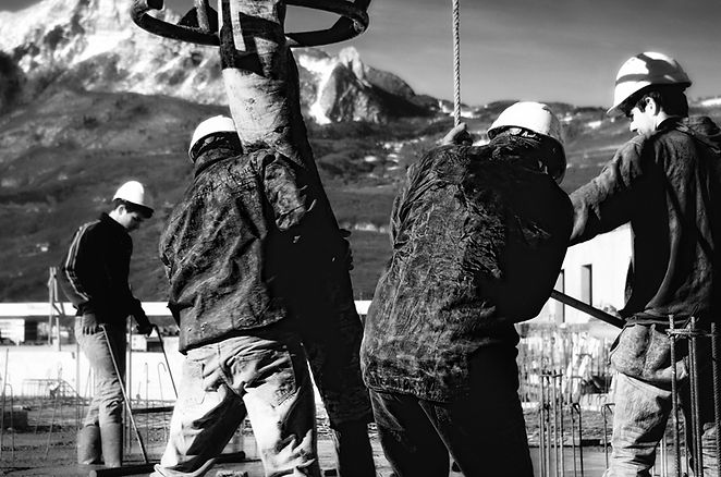 Photographie architecture reportage chantier SMBA quai graille grenoble Archicom4 Thomas Maniaque