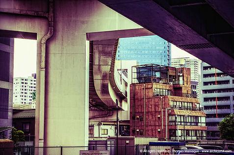 Tokyo concrete exposition photo japan japon échangeur motorway junction building architecture rainbow bridge