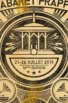 Cabaret frappé graphique sérigraphie concours 2014 gagnant lauréat