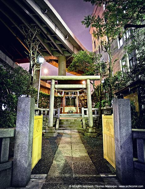 Tokyo concrete exposition photo temple japan japon échangeur motorway junction