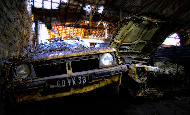 Photographie urbex grenoble urban decay abandonned escapade toxique Archicom4 Thomas Maniaque
