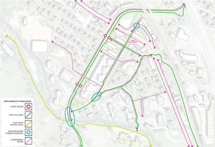 Etude aménagement urbain urbanisme centre bourg Barberaz Patriarche Archicom4 Thomas Maniaque