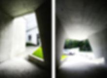 Photographie architecture bureau SMBA fontaine béton Archicom4 Thomas Maniaque Amroc Architecte Marc Girard