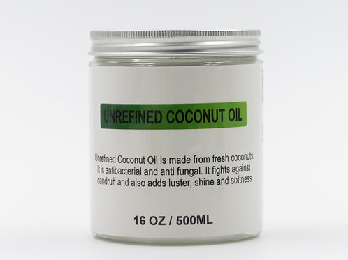 Virgin Unrefined Coconut Oil