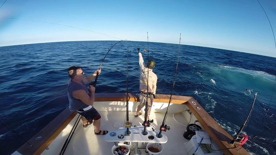 Jeff Lewis first sailfish!