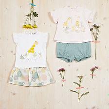 Yours Abbigliamento - Abiti per bebè Coll. Estate 2021   Culla 0- 6 mesi Yours by 02Tandem