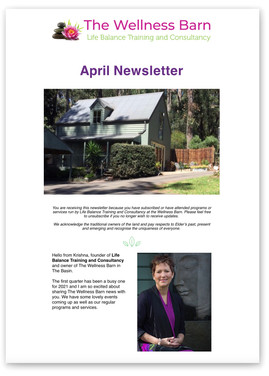 The April newsletter is out now!