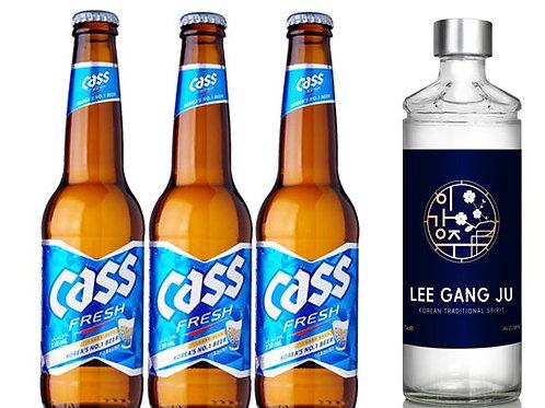 Somek Set (Soju + Beer)