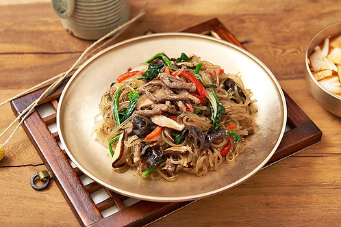 Japchae (Stir-fried Glass Noodles)