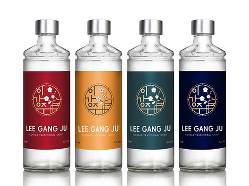 Lee Gang Ju Soju (19%) 350ml