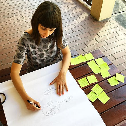 One-on-one business visioning over lunch with the lovely _lichenandleaf ! She makes the most beautif