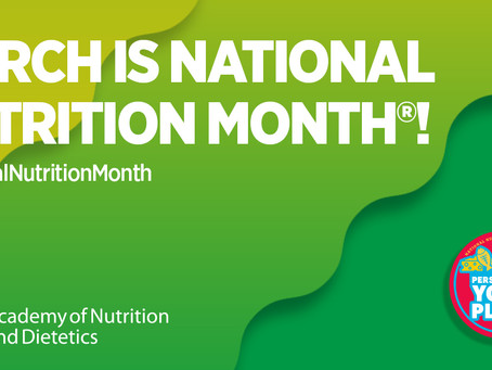 Healthy Eating Highlighted in National Nutrition Month
