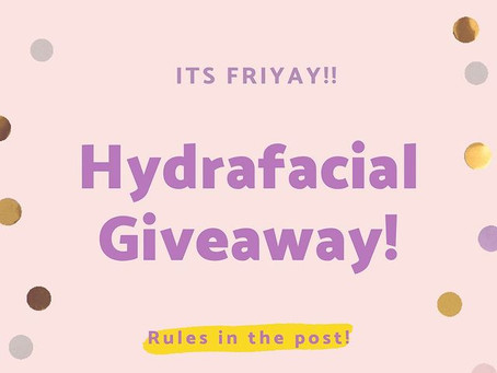 Your First Chance to Win a Signature Hydrafacial