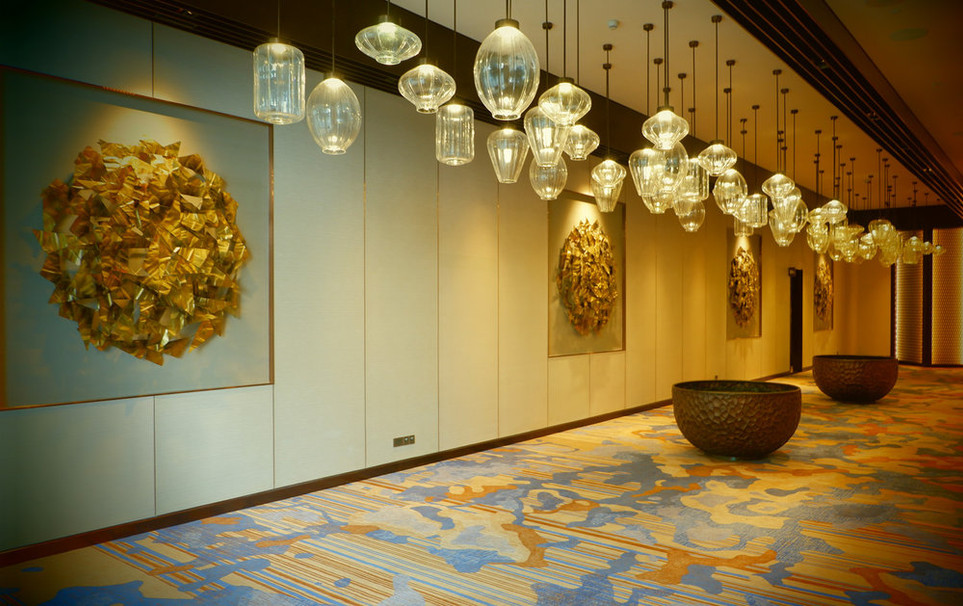 Hilton pre-function Lanterns.jpg