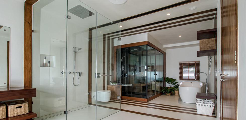 Bathroom Zen Villa Bangkok