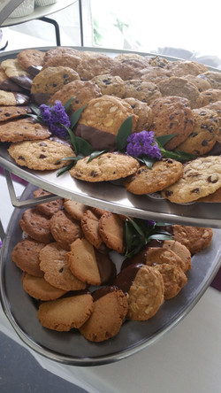 Assortment: Chocolate Dipped Cookies