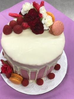 Elegant Lemon Poppyseed Cake