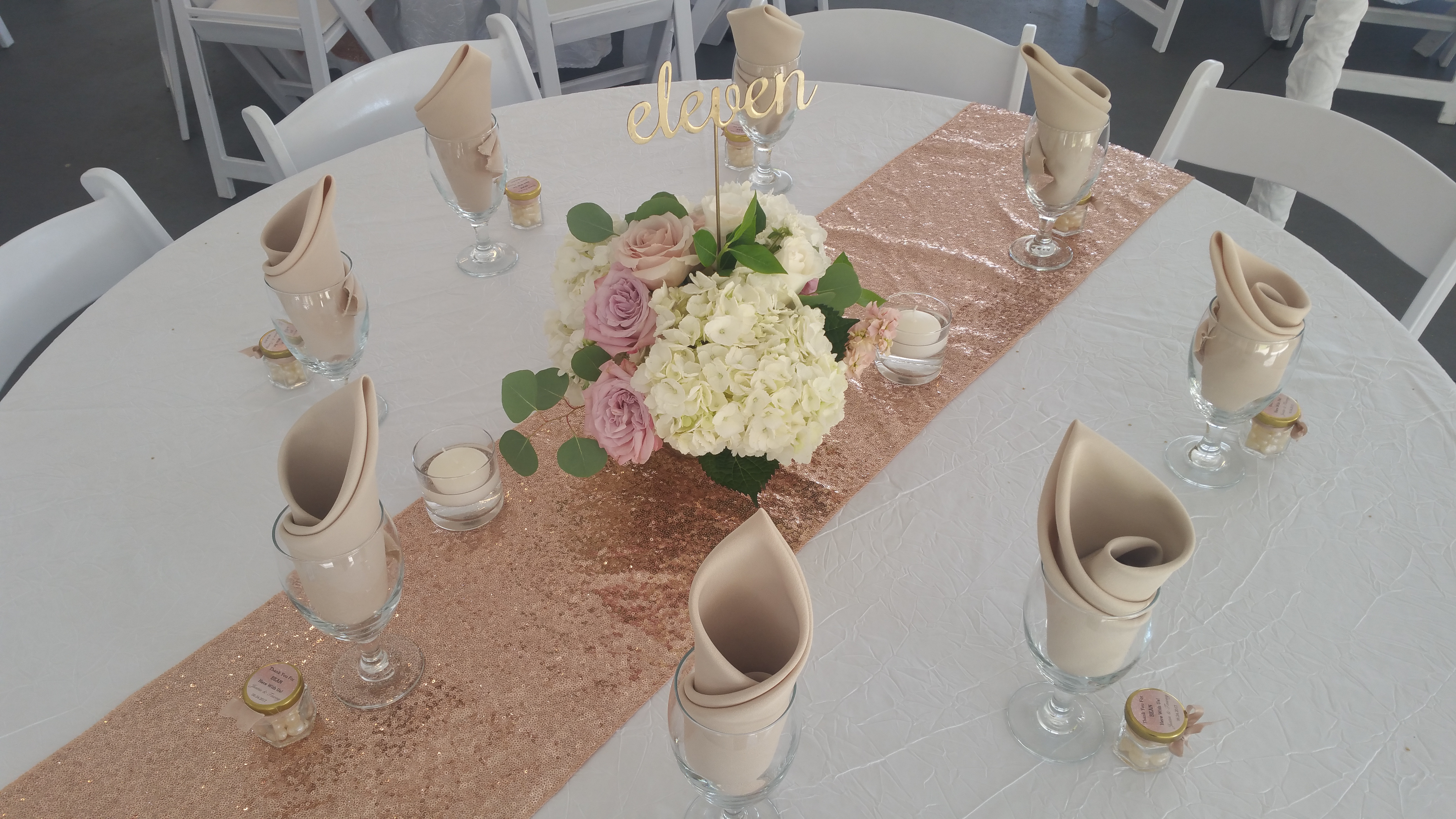Wedding Table Arrangement