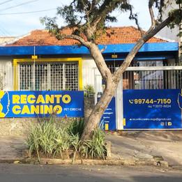 Fachada do Recanto