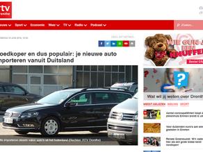 AutoImportNoord.nl in het nieuws bij RTV Drenthe