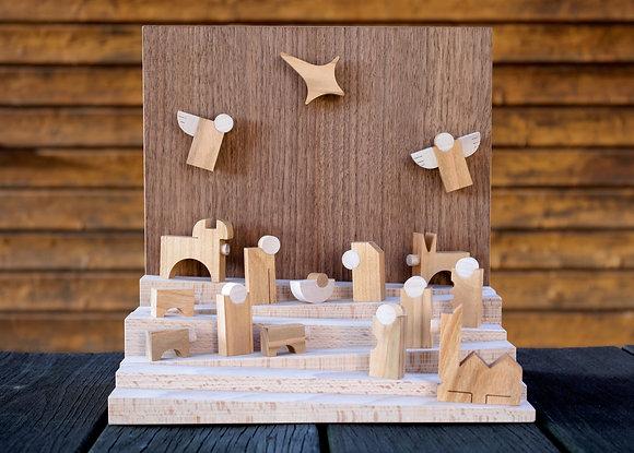 Horizon Nativity Scene
