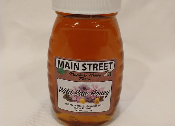 Local Raw Honey (half pound)