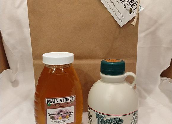 Honey & Maple Syrup Gift (large)