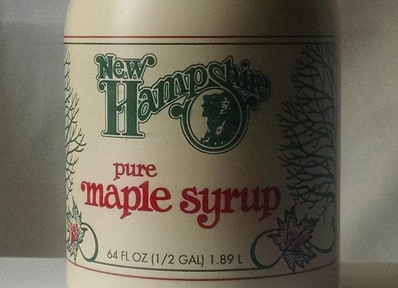 Grade A Maple Syrup (half gallon) Amber & Dark