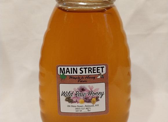 Local Raw Honey (one pound)
