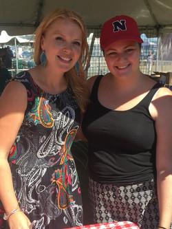 Meeting Bria Skonberg at the Newport Jazz Festival