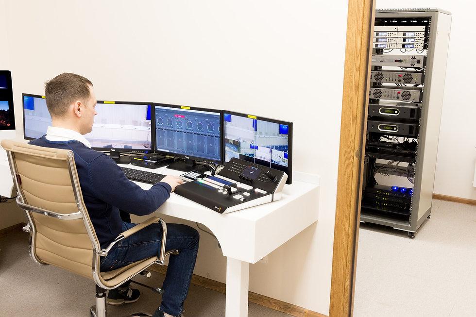 Оснащение мультимедиа системами диспетчерских и ситуационных центров